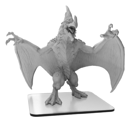 Pteradax  Monsterpocalypse Terrasaurs Monster (metal/resin)